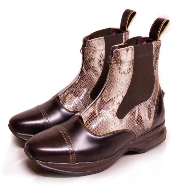 DonaDeo Yard Boots Brown Pintoné