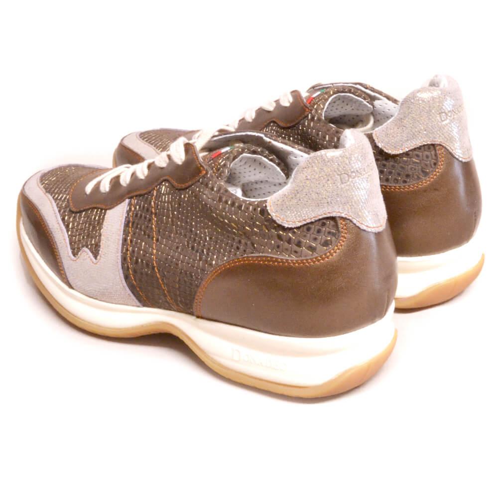 DonaDeo Sneaker Regal Brown Silver