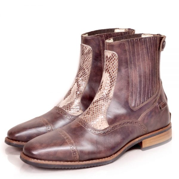 DonaDeo Yard Boots Caprice Brown/Cobra