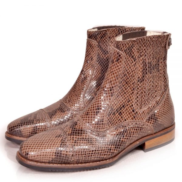DonaDeo Yard Boots Pintone Brown