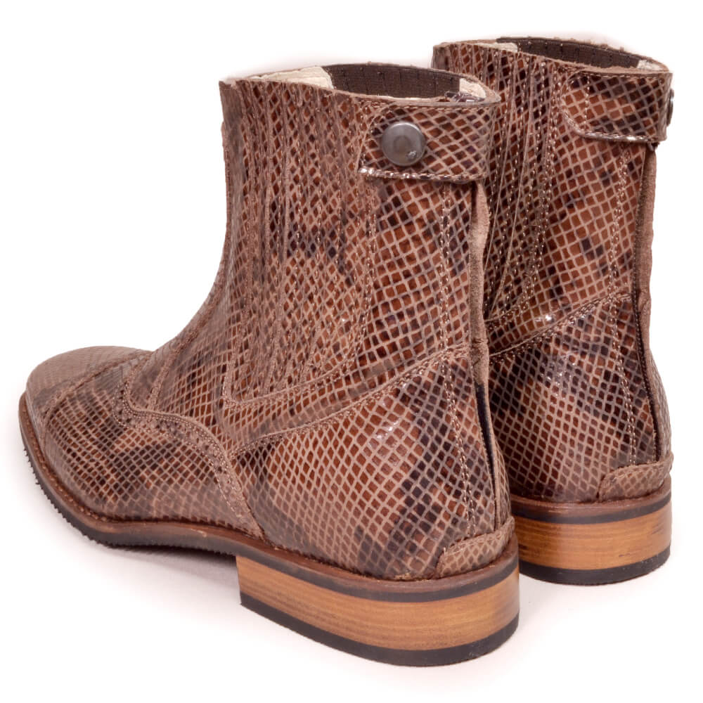 DonaDeo Yard Boots Pintone Brown