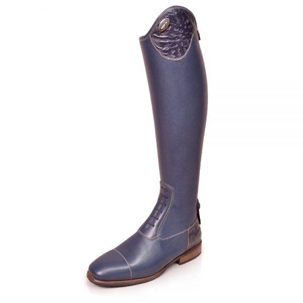 DeNiro Salento Vitello Blue Ems Cotto Top and Heel