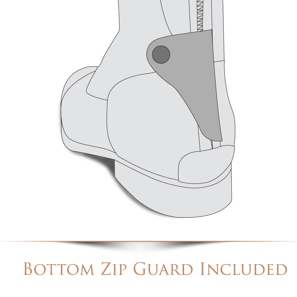De Niro Bottom Zip Guard