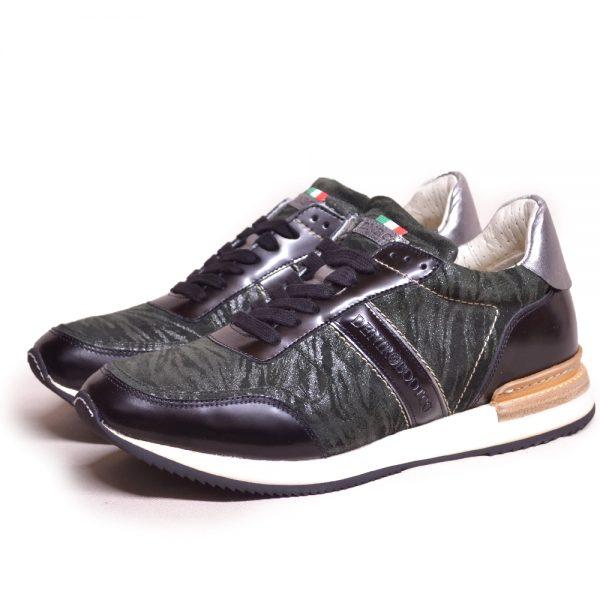 DeNiro Vice Versa Sneaker Miraggio Black Brushed