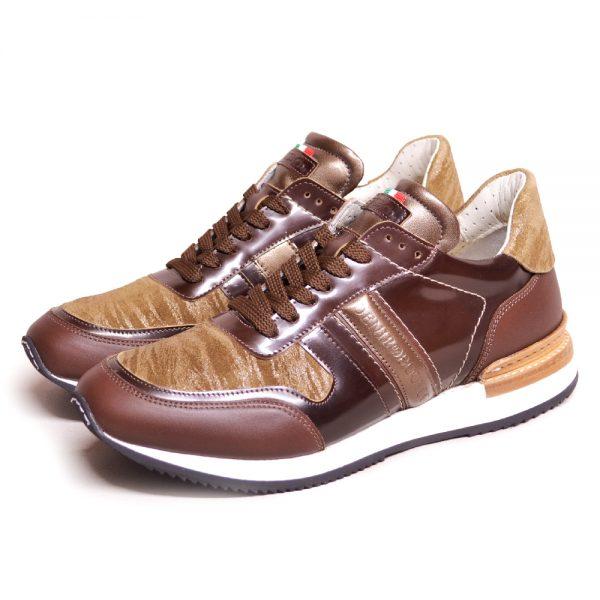 DeNiro Vice Versa Sneaker Miraggio Ambra Brushed