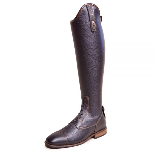 DeNiro Julietta Black Patent Brown