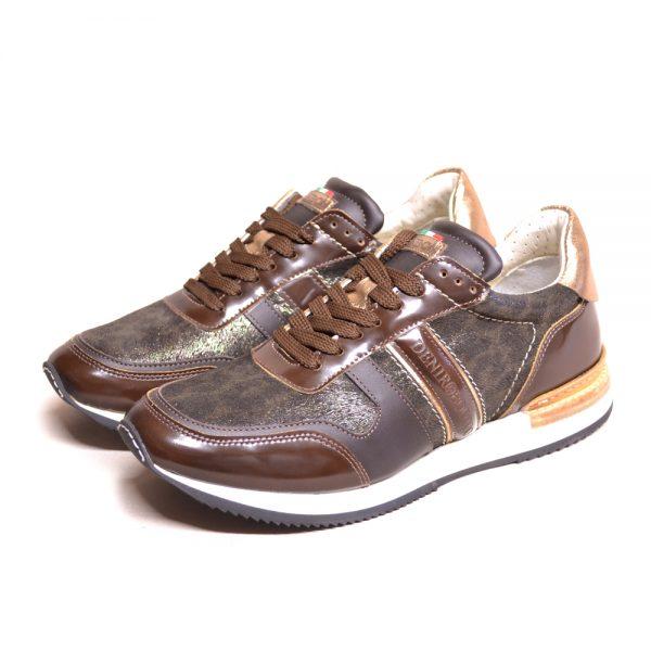DeNiro Vice Versa Brushed Brown Sneaker