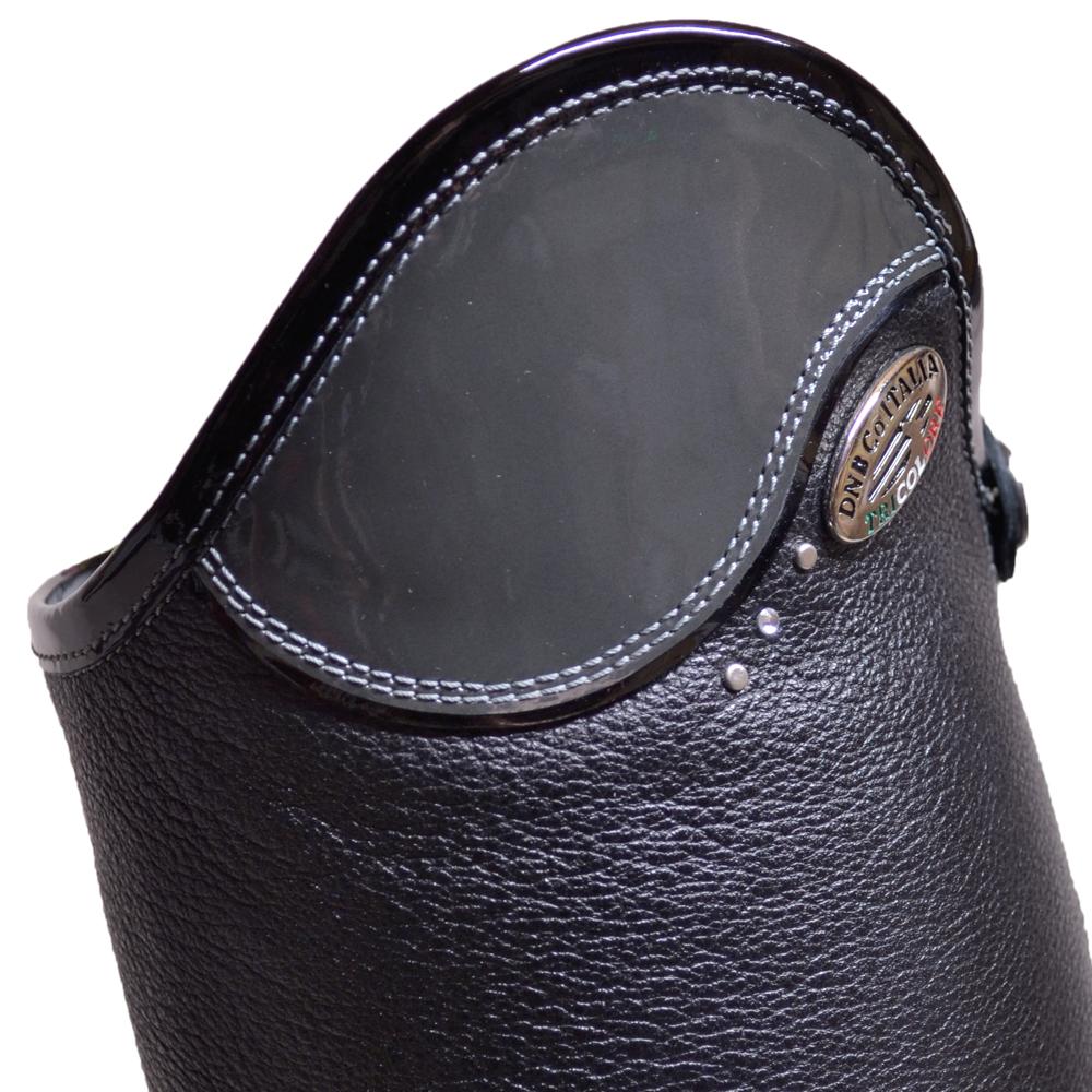 De Niro Salentino Black Patent Grey